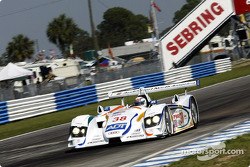 Andy Wallace in the Champion Audi R8 #38