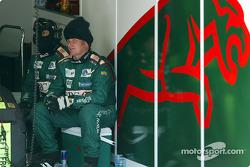 Jaguar crew members