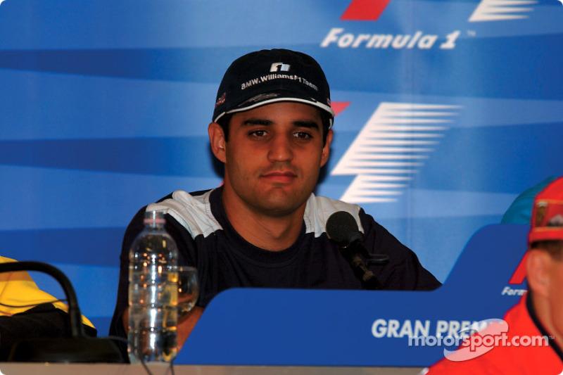 Thursday press conference: Juan Pablo Montoya