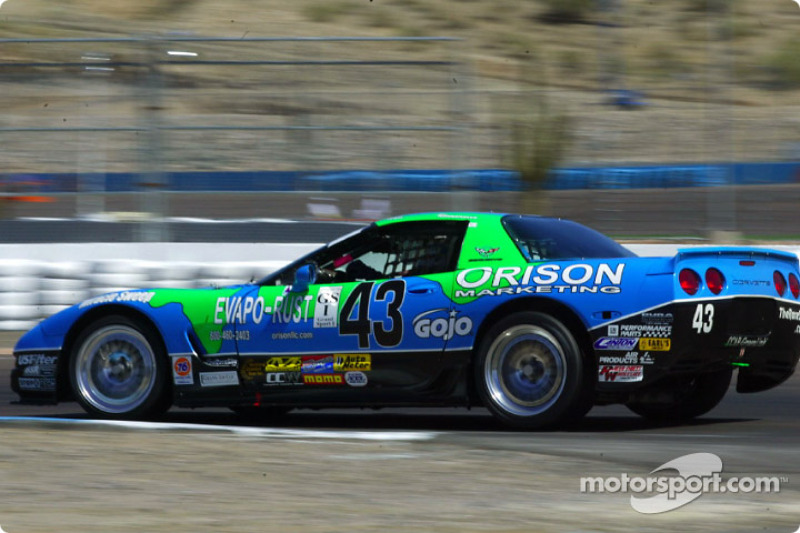 The #43 Planet Earth Motorsports Corvette continued to be the fastest GS I car during Friday's practice session