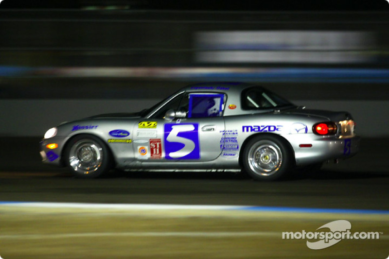 The DTM Engineering #5 Miata captured Mazda's first win in the Sport Touring II class at the UnitedAuto Touring 250
