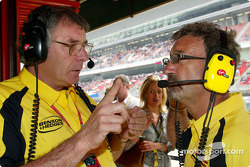 Gary Anderson and Eddie Jordan