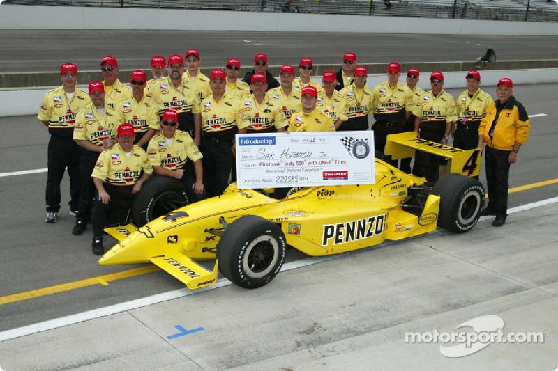 Sam Hornish Jr. and Panther Racing