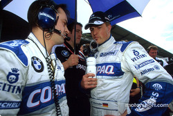 Ralf Schumacher on the grid