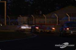 Racing at night