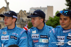 Jonathan Cochet, Benoit Treluyer and Jean-Philippe Belloc
