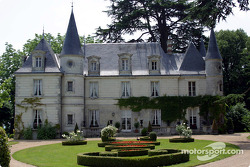Motorsport.com's headquarters during the 24 Hours of Le Mans: the Château de Montgouverne in the Tours area
