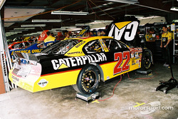 Ward Burton's car