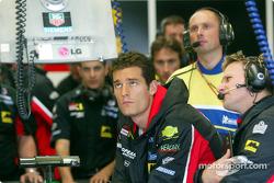 Race over for Mark Webber
