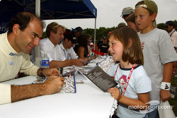 Autograph session: Emanuele Pirro