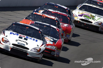 Ryan Newman leading the field
