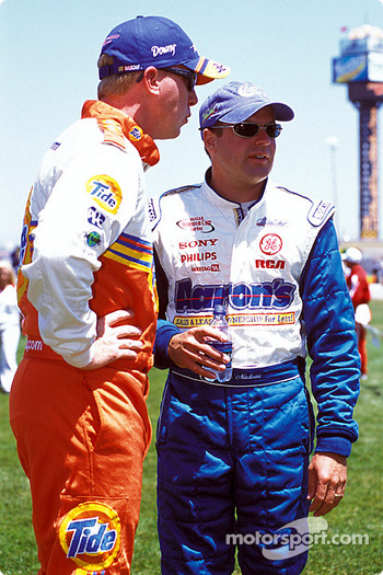 Ricky Craven and Jerry Nadeau