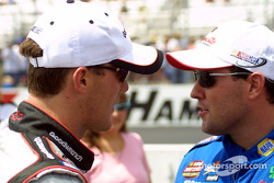 Kevin Harvick and Brendan Gaughan