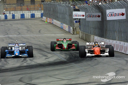 Alex Tagliani, Adrian Fernandez and Oriol Servia