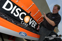 Discovery Card Ford crew members