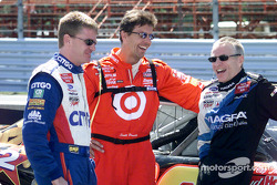 Jeff Burton, Scott Pruett and Mark Martin