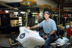 Visit of Toronto with ALMS drivers: David Brabham