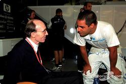 Juan Pablo Montoya and Frank Williams