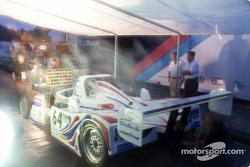 Overtime for Porsche-Lola crew