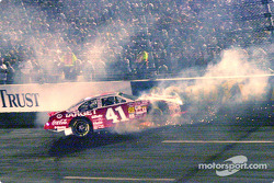 Jimmy Spencer crash