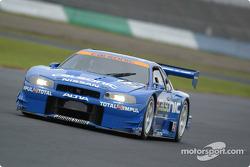 Nissan Skyline GT-R  (GT500), Tetsuya Tanaka, Benoit Treluyer