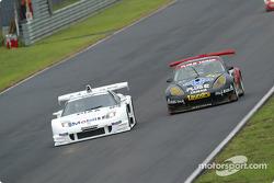 Honda NSX (500), Tsugio Matsuda, Ralph Firman, Porsche 911GT3R (300), Atsushi Yogo, Kazuyuki Nishizawa