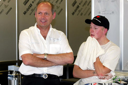 Ron Dennis and Kimi Raikkonen