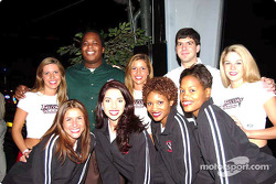 Special Olympics charity fund-raiser: Atlanta Falcons cheerleaders