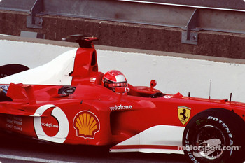 Michael Schumacher - Sunday warm up