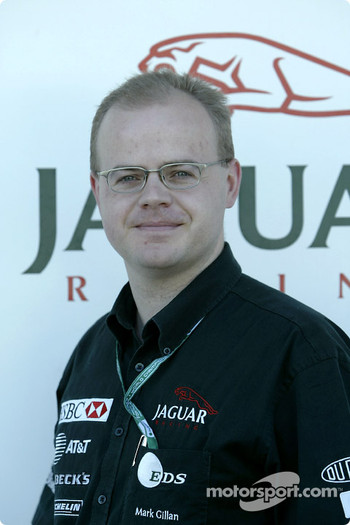 Dr Mark Gillan of Jaguar