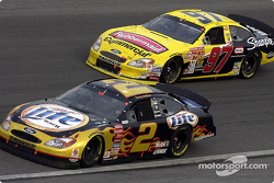 Rusty Wallace and Kurt Busch