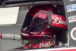 Dale Earnhardt Jr. with helmet