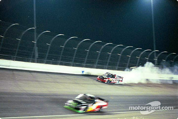 Terry Cook blows up in turn 4