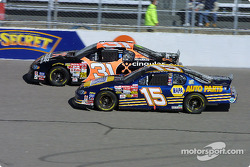 Robby Gordon and Michael Waltrip
