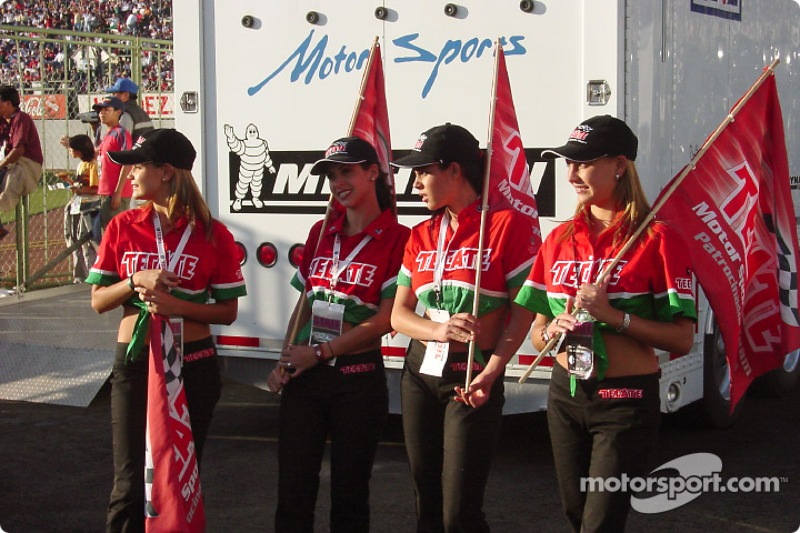 The lovely Tecate girls