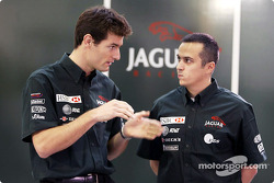 Jaguar Racing 2003 drivers presentation
