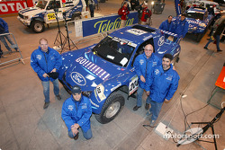 Schlesser Ford X 202 team Jean-Louis Schlesser, Jean-Marie Lurquin, José Maria Servia and Enric Oller-Carbo