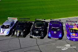 The Daytona Prototype cars