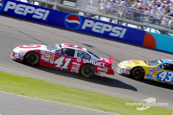 Jimmy Spencer and John Andretti