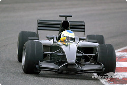Jordan-Ford EJ13 first test: Giancarlo Fisichella