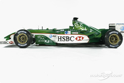 The new Jaguar R4 photographed at Ford's Proving Ground in Lommel, Belgium