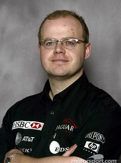 Dr Mark Gillan, Jaguar Racing, Head of Vehicle Performance
