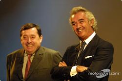 Patrick Faure and Flavio Briatore