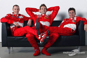Richard Burns, Marcus Gronholm and Gilles Panizzi