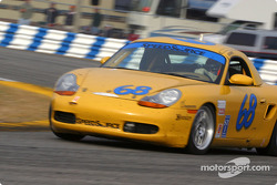 #68 SpeedSource Porsche Boxster: Scott Schlesinger, Ray Genao