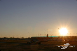Sunset on Daytona International Speedway