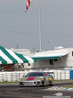 #63 ACEMCO Motorsports Ferrari 360 Modena: Cass Whitehead, B.J. Zacharias, Andrew Davis