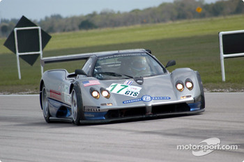 #17 Carsport America Pagani Zonda GR: Mike Hezemans, Anthony Kumpen, Ricardo Gonzalez