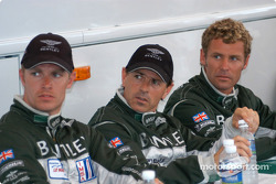Guy Smith, Rinaldo Capello and Tom Kristensen