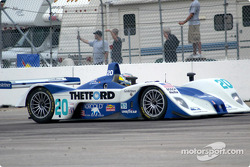 #20 Dyson Racing Team Lola EX257/AER MG: Chad Block, Chris Dyson, Didier De Radigues